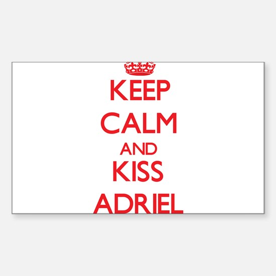 Keep Calm and Kiss Adriel Decal