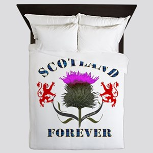 Scotland Forever Thistle Queen Duvet