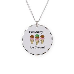 Fueled by Ice Cream Necklace