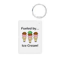 Fueled by Ice Cream Keychains