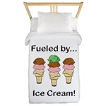 Fueled by Ice Cream Twin Duvet