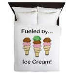 Fueled by Ice Cream Queen Duvet