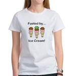 Fueled by Ice Cream Women's T-Shirt