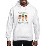 Fueled by Ice Cream Hooded Sweatshirt