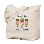 Fueled by Ice Cream Tote Bag