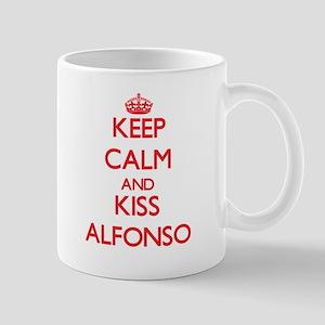 Keep Calm and Kiss Alfonso Mugs
