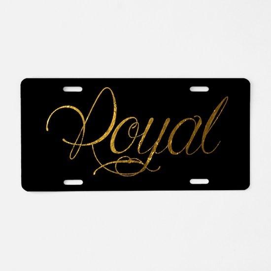 Royal Aluminum License Plate