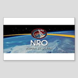 NROL-6 Launch Team Sticker (Rectangle 10 pk)