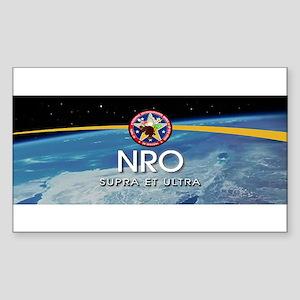NROL-16 Program Logo Sticker (Rectangle 10 pk)