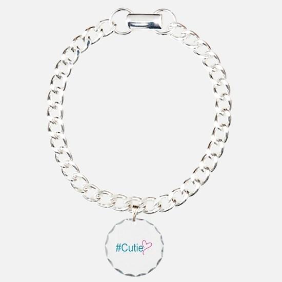 Hashtag Cutie Heart Bracelet