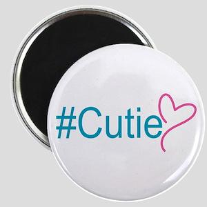 "Hashtag Cutie Heart 2.25"" Magnet (10 pack)"