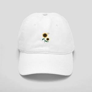 Sun Flowers Baseball Cap