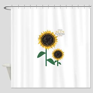 Sun Flowers Shower Curtain