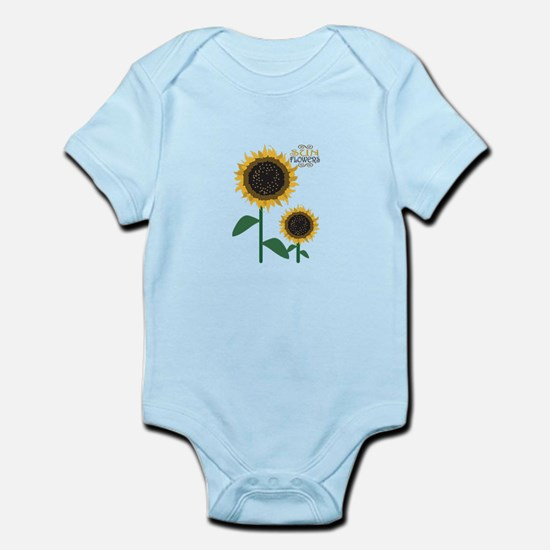 Sun Flowers Body Suit