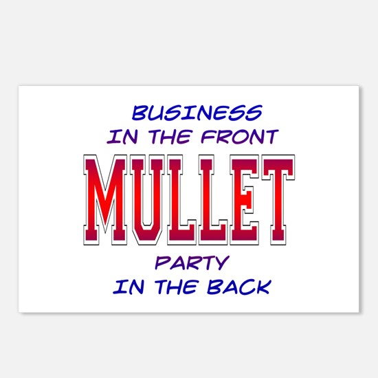 Mullet Postcards (Package of 8)