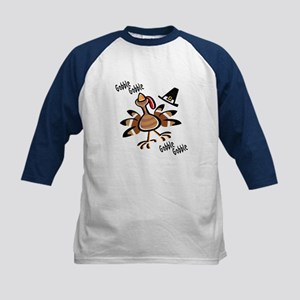 Thanksgiving Kids Baseball Jersey