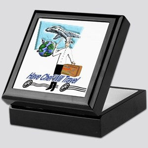 Have Chef Will Travel Keepsake Box