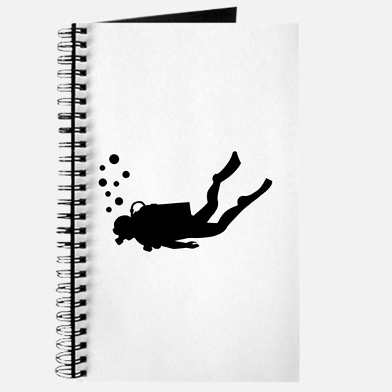Scuba diver bubbles Journal