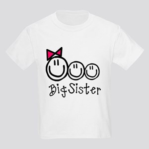 Big Sis of Three Kids Light T-Shirt