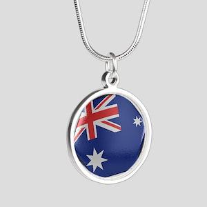 Australia Soccer Ball Necklaces