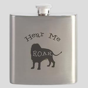 Hear Me Roar Flask