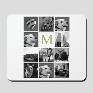 Monogram and Photoblock Mousepad