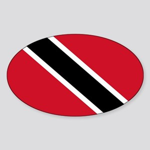 Trinidad and Tobago Oval Sticker