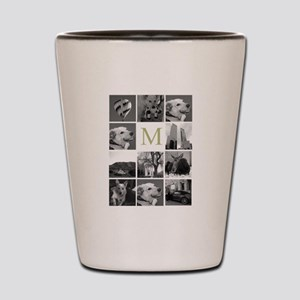 Monogram and Photoblock Shot Glass