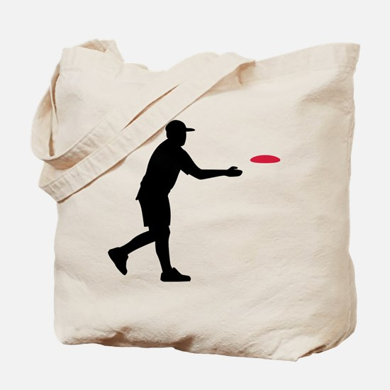 Disc golf player Tote Bag