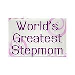 World's Greatest Stepmom Rectangle Magnet (100 pac