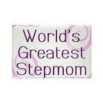 World's Greatest Stepmom Rectangle Magnet