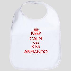 Keep Calm and Kiss Armando Bib