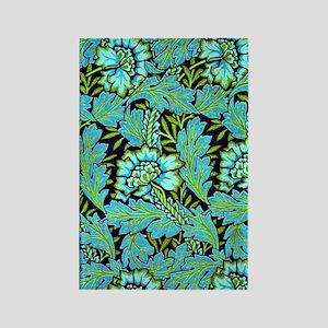 William Morris - Anemone Pattern  Rectangle Magnet