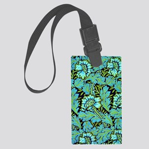 William Morris - Anemone Pattern Large Luggage Tag