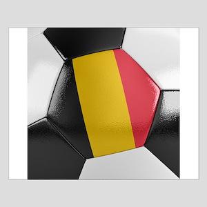 Belgium Soccer Ball Poster Kleine XXXXX