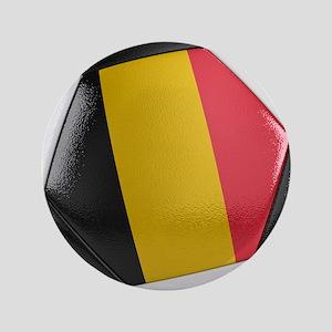 "Belgium Soccer Ball 3.5"" Button"