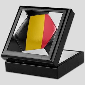 Belgium Soccer Ball Keepsake Box