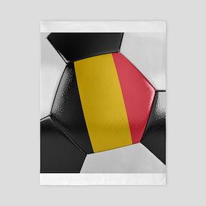 Belgium Soccer Ball Twin Duvet