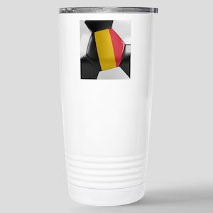 Belgium Soccer Ball Travel Mug