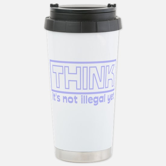 think.png Travel Mug