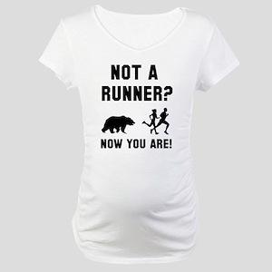 Not A Runner Maternity T-Shirt