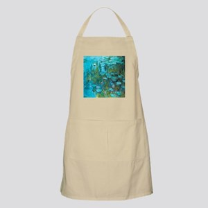 Water Lilies by Monet Apron