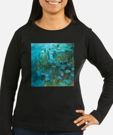 Water Lilies by Monet Long Sleeve T-Shirt