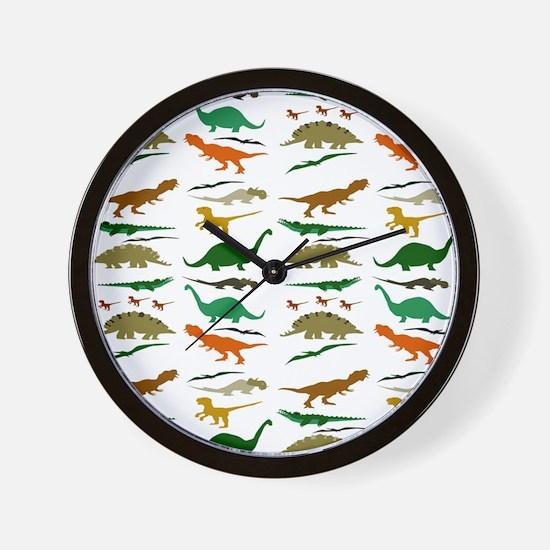 Dinosauria Wall Clock