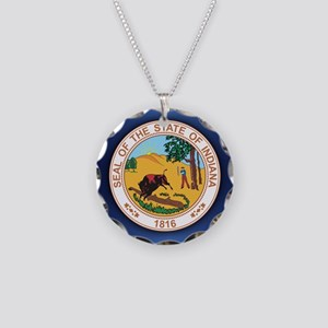 Indiana Seal.png Necklace