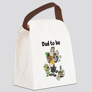 Funny dad to be Canvas Lunch Bag