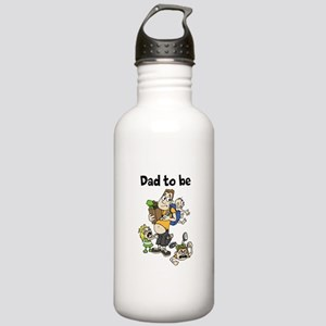Funny dad to be Water Bottle