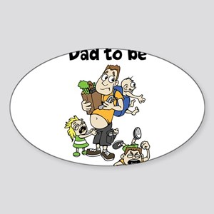 Funny dad to be Sticker