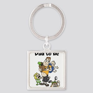 Funny dad to be Keychains