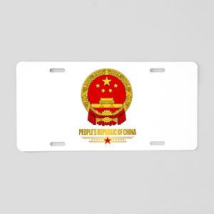 China COA Aluminum License Plate
